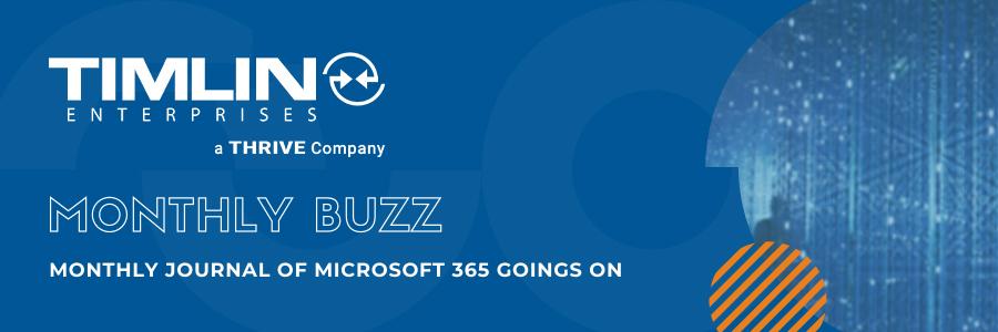 Monthly Buzz Newsletter Header
