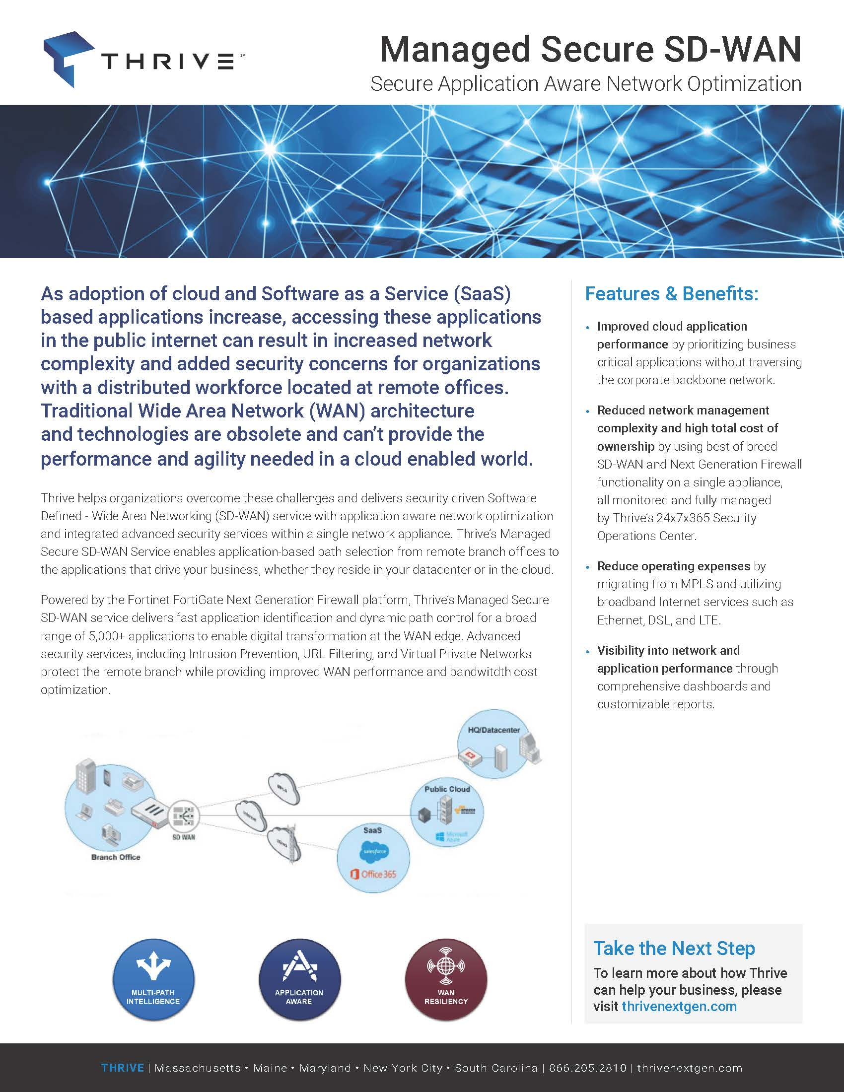 Thrive_Managed Secure SD-WAN One Pager-FINAL